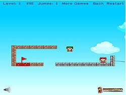 Mario Box Jump game