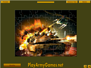 Juega al juego gratis Military Units Jigsaw