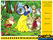 Snow White Hidden Numbers