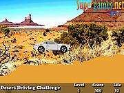 Juega al juego gratis Desert Driving Challenge