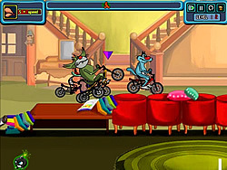 Oggy The Racer game