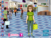 Shopping Girl Dressup game
