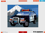 Police Car Jigsaw game