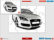 Audi Super Car Puzzle game
