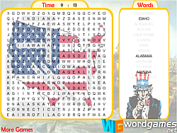US Word Search game