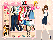 Cute Selina Dress Up game