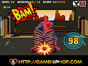 Juega al juego gratis Spiderman's Power Strike