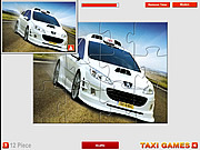 Taxi 4 Jigsaw game