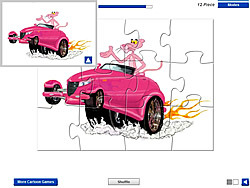 Pink Panther Car game