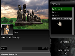 Josh Tam Mysteries G2 : Easter Island game