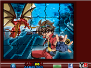 Juego Sort My Tiles Bakugan