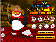 Kung Fu Po Dress Up