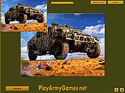 Military Hummer Jigsaw