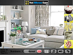 Room artist. Find objects game