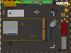 Semi Truck Parking game