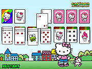 Hello Kitty Solitaire لعبة