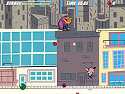 Juega al juego gratis Powerpuff Girls: Meat the Mayor