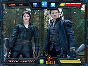 Hansel and Gretel Witch Hunters-Find the Alphabets game