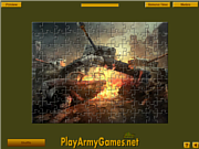 Game Tank Destroyer Puzzle