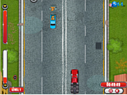 Crazy Trucker Rush game