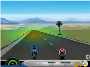 Motorbike Race 3D game