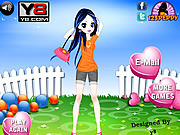 Slim Cutie Dress Up game