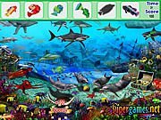 Juega al juego gratis Underwater Fish Hidden Object