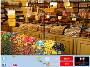 Juega al juego gratis Candy Shop Hidden Objects