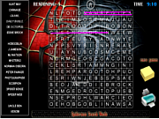 Spiderman Search Words game