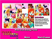 Winx Club Sliding Puzzle
