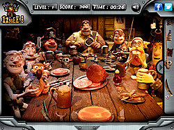 The Pirates - Hidden Objects game