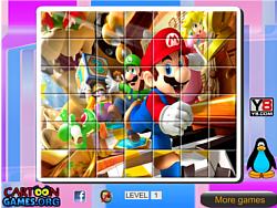 Mario Rotate Puzzle game