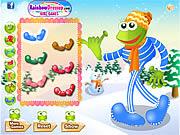 เล่นเกมฟรี Leggy Frog