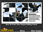 How To Train Your Dragon Sliding Puzzle