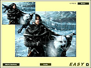 Snow Ghost Jigsaw game