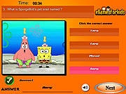 Spongebob Squarepants Quiz game