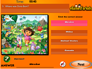 Dora The Exploer Quiz