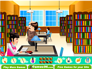 Juega al juego gratis Lazy in the Library