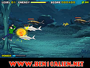 Game Ben 10 Sea Monster