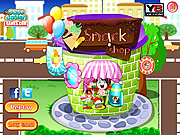 Juega al juego gratis Candy Shop Decoration