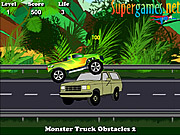 Gioca gratuitamente a Monster Truck Obstacles 2