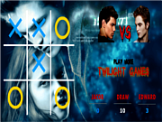 Twilight Tic Tac Toe game