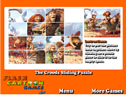 The Croods Sliding Puzzle game
