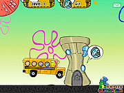 gra Spongebob School Bus