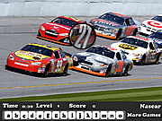 Nascar Hidden Letters game