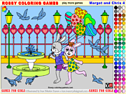 無料ゲームのMargot and Chris 4 - Rossy Coloringをプレイ