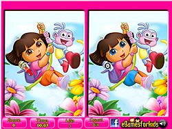 Juega al juego gratis Dora - 6 Differences