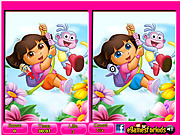 Dora - 6 Differences game
