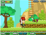 Gem Hunter Adventure game