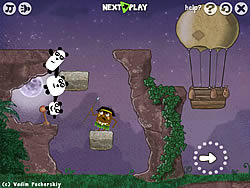 Jouer au jeu gratuit 3 Pandas 2